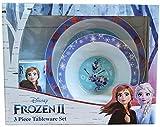 Disney 1546 1622 Frozen II - Set da tavola in polipropilene, 3 pezzi