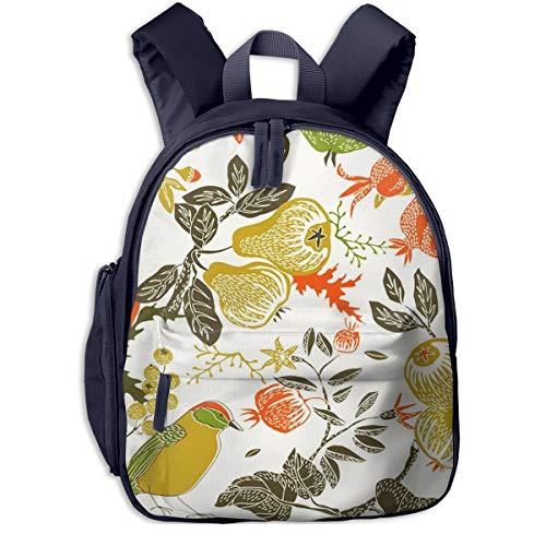 Kinderrucksack Kleinkind Jungen Mädchen Kindergartentasche Obstgarten Vogelfall Backpack Schultasche Rucksack