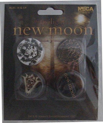 Twilight - New Moon - Crest Badge Pack