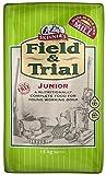 Skinner's Life Field & Trial Junior - Cibo secco completo per cani giovani, equilibrato, supporta la salute dell'intestino, 15 kg
