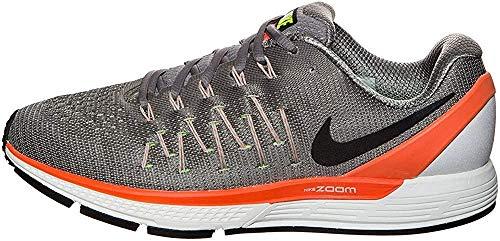 Nike Herren AIR Zoom Odyssey 2 Laufschuhe, White/Dark O...