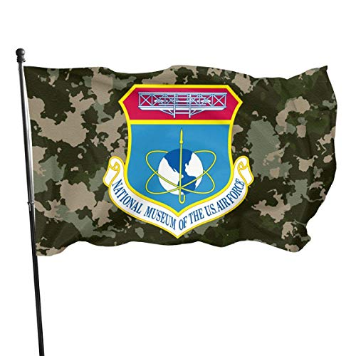 ShiHaiYunBai Flagge/Fahne, National Museum of The United States Air Force Nmusaf Outdoor Flag Home Garden Flag Banner Breeze Flag USA Flag Decorative Flag 3x5 Ft Flag