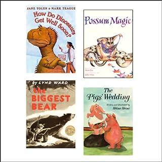 The Biggest Bear, How Do Dinosaurs Get Well Soon?, The Pig's Wedding, & Possum Magic cover art