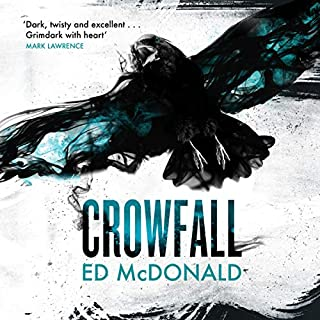 Crowfall audiobook cover art