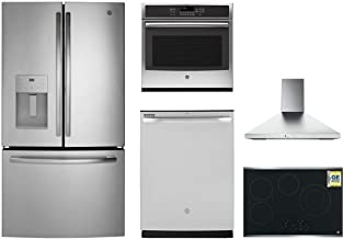 5-Piece Kitchen Appliance Package with 36