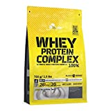 Olimp Whey Protein Complex 100% Vanille, 1er Pack (1 x 700 g) -