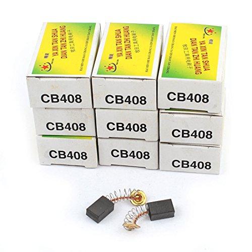 sourcingmap® 20 piezas Escobillas de carbón del motor eléctrico 13mm x 9mm...