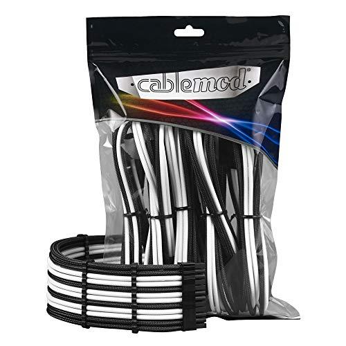 CableMod PRO ModMesh Cable Extension Kit - schwarz/weiß