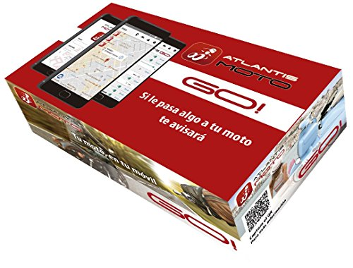 Atlantis Moto Localizador GPS | Incluye Sensor AntiJammer+Sensor Entrada/Salida...