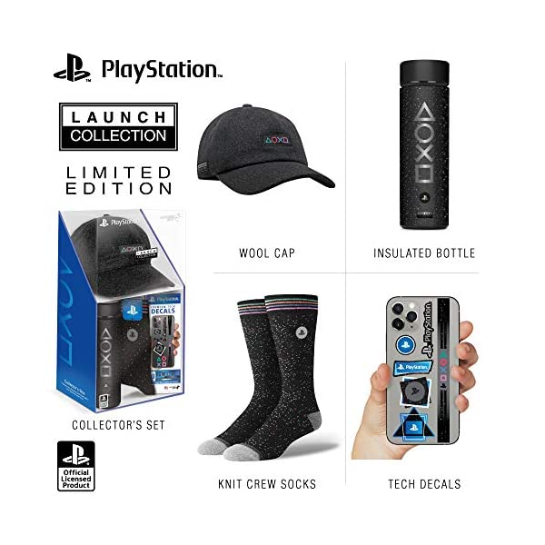 Controller Gear Official Sony PlayStation 5 Launch Collection Merchandise Bundle...