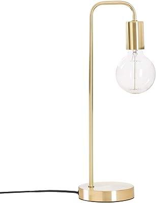 Lampada da tavolo in metallo - Design e originale - Colore: DORATO