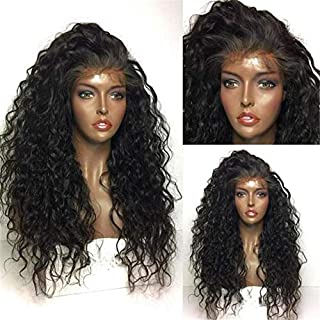 RIKA HAIR Long Deep Part 13x6 Lace Frontal Human Hair Wigs For Women Kinky Curly Pre Plucked Lace Front Wig With Baby Hair...