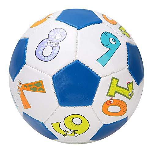 oueaen Calcio Sportivo per Bambini - Allenamento per Bambini all'aperto Taglia # 2 Pallone da Calcio Kid Sport Match Calcio 13 cm/5.1 Pollici(Numero Palla)