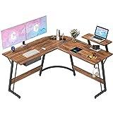 CubiCubi L-Shaped Desk Computer Corner Desk, 50.8' Home Gaming...