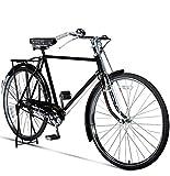 EEKUY Vélo rétro, Pneu City Comfort Bike des années 70, Style 1, Vitesse 28 Pouces