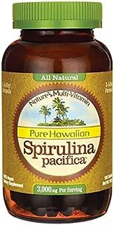 Nutrex Hawaii Pure Hawaiian Spirulina 1000 Milligrams, 180 Tablets