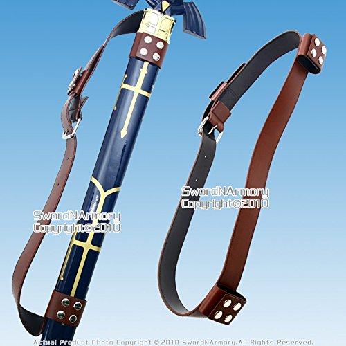 Etrading Medieval Back Hanger Baldric Sword Belt for Zelda Link Princes Anime Sword
