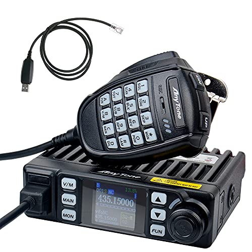 AnyTone AT-779UV Mini Mobile Radio 20W Dual Band Car Transceiver