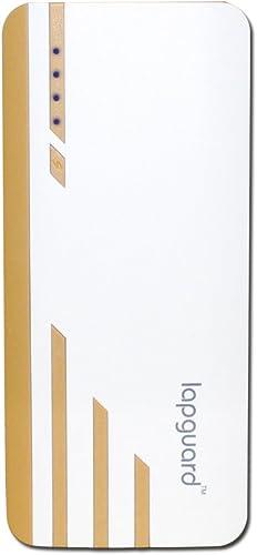 Lapguard 13000 Mah Lithium Ion Power Bank Sailing 1530 White Gold