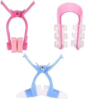 Conjunto de rodillos de nariz de 3 tipos, moldeador de nariz, masajeador, corrección, elevación, nariz, alisado, clip de b...