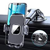 TORRAS [Ultra-Durable] Cell Phone Holder for Car, Universal Car Phone Mount Dashboard Windshield Vent Compatible with iPhone 12 11 Pro Max XS X XR 8 SE, Samsung Galaxy S20+Ultra Note10 Plus & All
