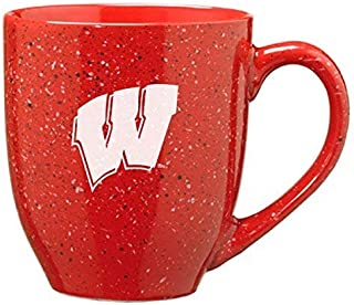 LXG, Inc. University of Wisconsin - 16-Ounce Ceramic Coffee Mug - Red