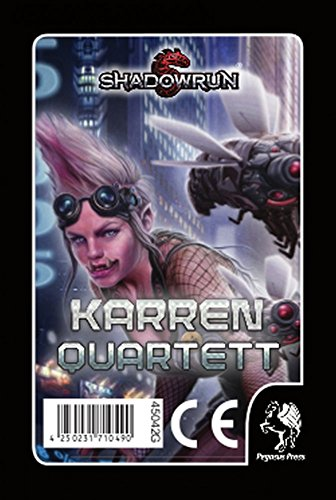 Pegasus Spiele Shadowrun Karrenquartett (Quartett)