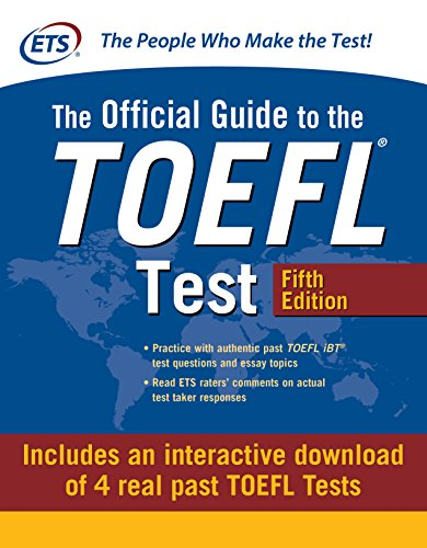Official Guide to the TOEFL Test with Downloadable Tests, Fifth Edition