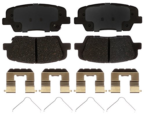 ACDelco Silver 14D1916CH Ceramic Rear Disc Brake Pad Set