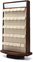 Shirleyle-HoRac Jewellery Display Stand Wooden Bracelet Holder Earring Necklace Rack Bracelet Stand for Jewelry Organization and Display for Women Girls Gifts (Color : Wood, Size : 4728cm)