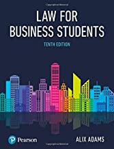 Best law for business students alix adams Reviews