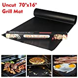 YOWAO BBQ Grill Mat, Non Stick Oven Liner Teflon Cooking Mats - Easy to Clean, Reusable, Durable, Heat...
