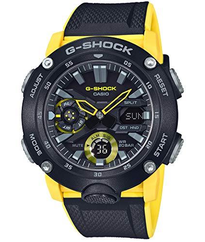 [カシオ] 腕時計 ジーショック カーボンコアガード構造 GA-2000-1A9JF メンズ イエロー