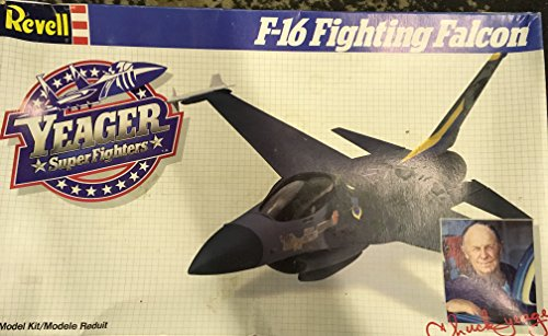 Revell Yeager Super Fighters F-16 Fighting Falcon 1/48 Modelo Kit