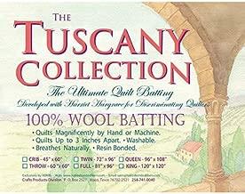 Hobbs Batting Tuscany 100% Washable Wool x 120in King, 120