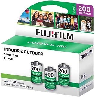 Fujifilm Fujicolor 200 Color Negative Film ISO 200, 35mm Size, 36 Exposure, CA-36 3 Pack