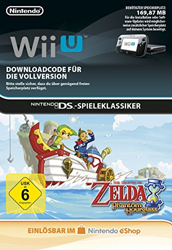 The Legend of Zelda: Phantom Hourglass [Wii U Download Code]