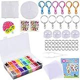 Chstarina 7500 piezas Cuentas y Abalorios 5mm Plásticos Cuentas para Planchar de 24 Colores para DIY Manualidad para Fiesta Cumpleaños Niños