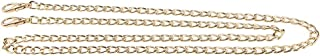 Dolity 1m Replacement Shoulder Crossbody Bag Strap Chain Handbag Handle DIY Purse Making, with Buckles