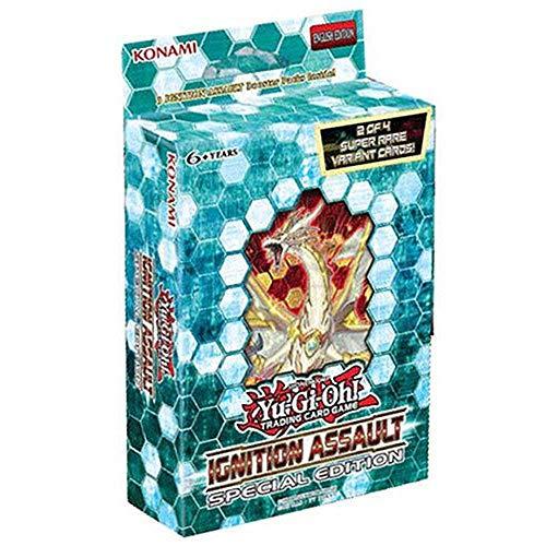 Yu Gi Oh- Box Special Edition, Colore Nero Celeste, TCG383SEDIS