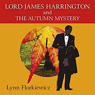 Lord James Harrington and the Autumn Mystery audiobook cover art
