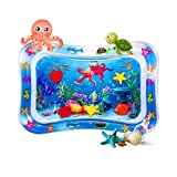 EasonWayUS Tummy Time Water Play Mat for 3-9 Months Toddlers, Baby Toys Inflatable Play Center for Tummy Time for 3/6/9 Months, BPA Free