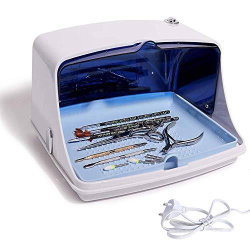 Scatola per sterilizzatore UV, Sterilizzatore UV per Attrezzi Scatola Disinfezione Portatile Ultravioletti Strumento per Cosmetico Manicure Unghie di Bellezza