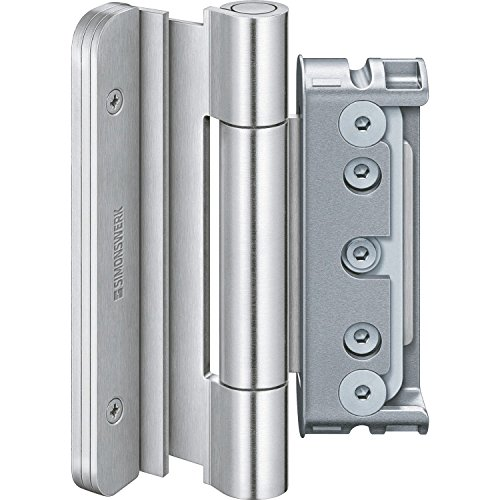 Simonswerk 5 080840 0 12401 Silber Türband BAKA Protect 4040 3D FD 4. Band ohne Stiftsicherung Aluminium eloxiert
