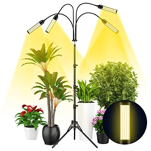 Grow Light with Tripod Stand, Balhvit 288PCS LED...