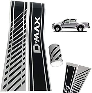 Ponis-Limos - 2x Car-Styling Auto SUV Vinyl Graphic Car Sticker Side Decal Stripe DIY Car Body for ISUZU DMAX Beast PICKUP Accessories
