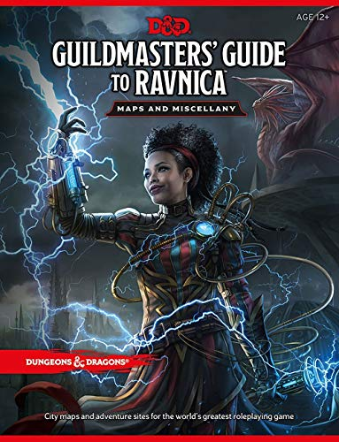 Wizards RPG Team D&D Guildmasters' Guide to Ravnica Map Pack