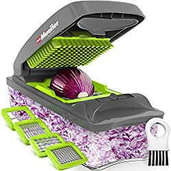 professional Mueller Austria Pro Series Onion Chopper, High Performance Cutter, Vegetable Cutter, Knife, Cutting Machine, …