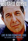 Leonard Cohen - Live In San Sebastian 1988 [DVD] [2017] [NTSC] [PAL] [Reino Unido]