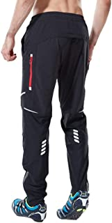 Ynport Crefreak Athletic Cycling MTB Trousers Breathable Sports Trousers Windproof Riding Trousers with Zip Pockets